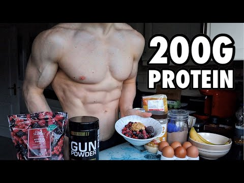 Full Day of Eating 2000 Calories | Extra High Protein Diet for Fat Loss!