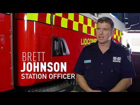 Station Officer Brett Johnson - Join the team that puts life first