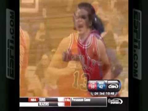 NBA Pretemporada 14/10/2009 ─ Chicago...