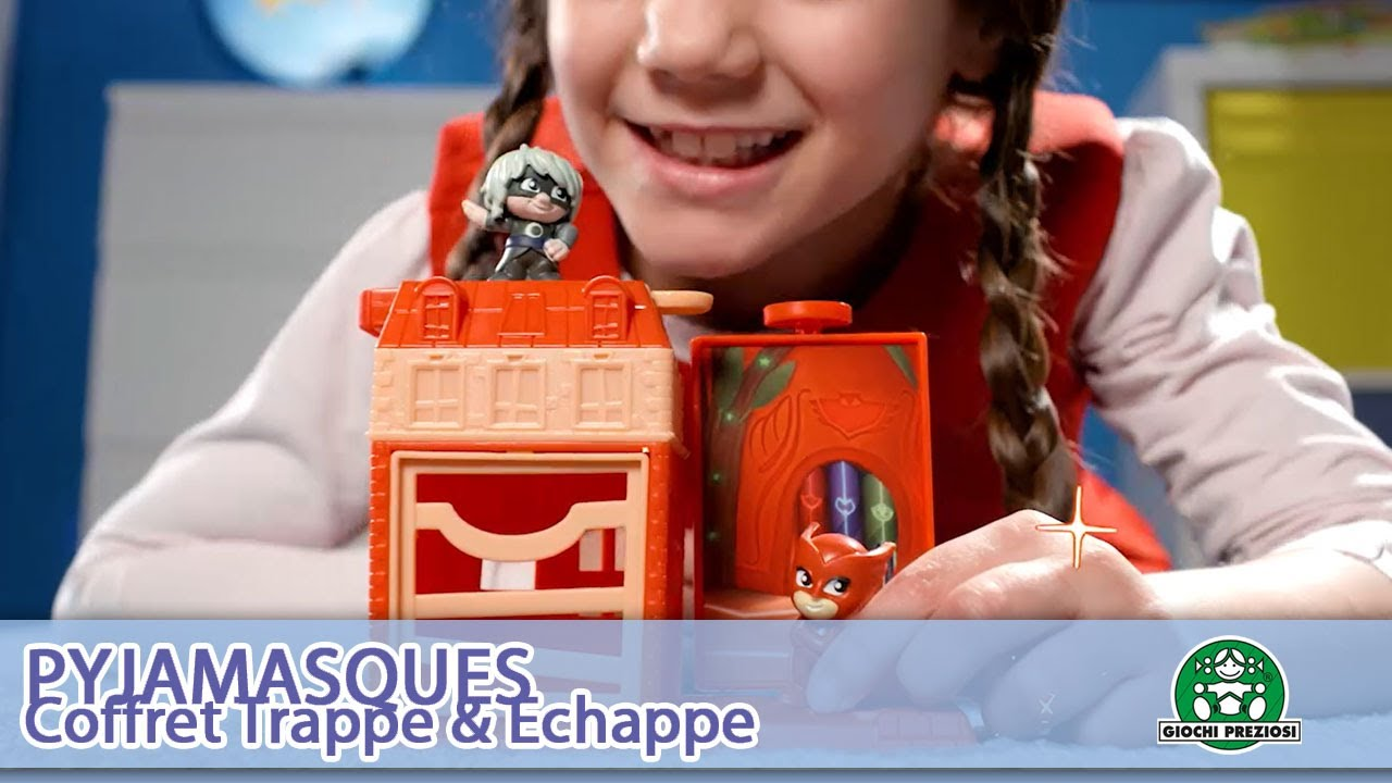 Pyjamasques / coffret Trappe & Échappe / Pub TV / Giochi France