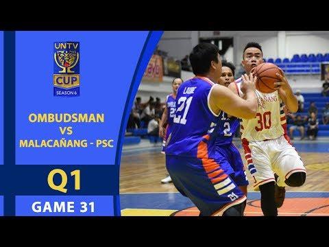 UNTV CUP 6: Ombudsman vs Malacañang-PSC — Q1