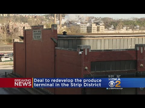 Plans To Redevelop Strip District Produce Terminal Move Forward