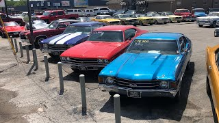 Muscle Car Lot Part 1 Classics 7/6/19 Inventory Maple Motors