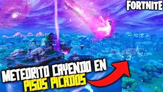 *NEW EVENT* NEW METEORITE FALLING IN CHOPPED FLOORS!!! THEORIES/SECRETS ? FORTNITE SEASON 6