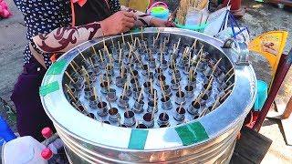 Different Ice Creams Of Thailand - Thai Street Food Desserts - Ice Cream Rolls