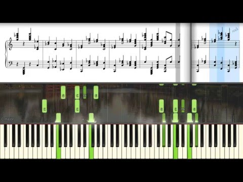 Beethoven - Symphony No. 5 in C Minor, Op67 [HD real piano + note]