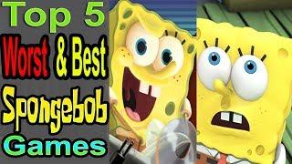 5 Worst/best Spongebob Games