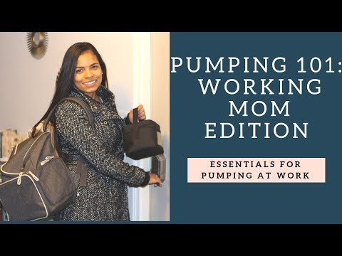 Get ready for Pumping at the office