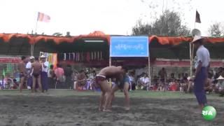 Rakhine Traditional Wrestling
