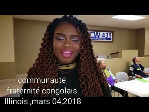 communauté fraternité congolais Illinois, point de presse di