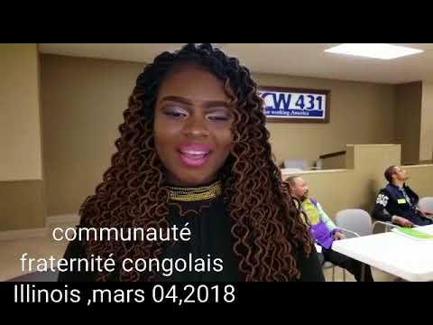communauté fraternité congolais Illinois, point de presse dimanche 04,mars 2018