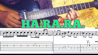 harara guitar lesson #chords #rhythm #lick