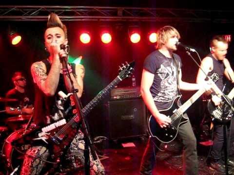 My Darkest Days performing