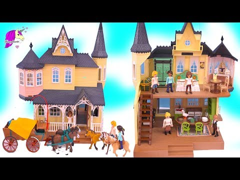 Luckys House + Horses Sets ! Spirit Riding Free Playmobil Playset Haul