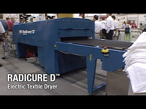 Radicure D - M&R Screen Printing Equipment - Electric Textile Dryer