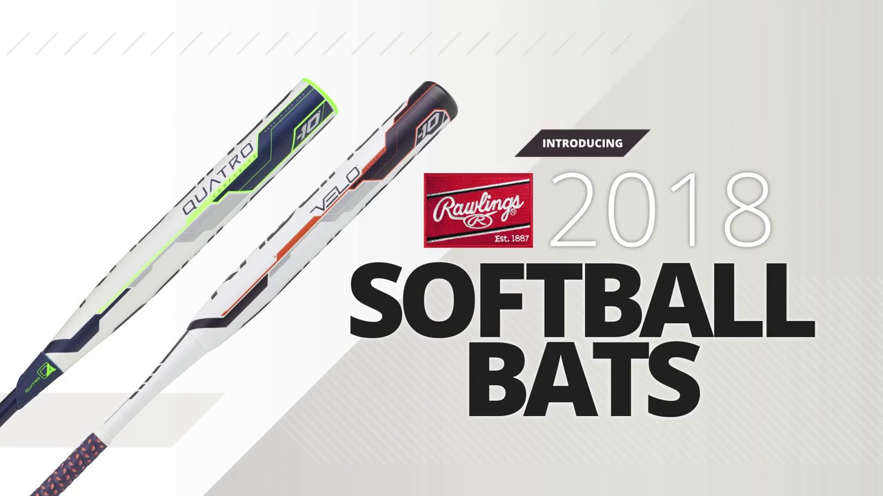 2018 Rawlings Fastpitch Softball Bats | Overview