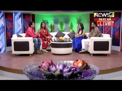 Breakfast Odisha with the tele couple MIRA & BISWA