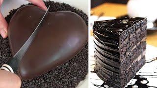 Chocolate HEAT Cake for My Lover   Easy Chocolate Cake Decorating Ideas   So Yummy Cake смотреть онлайн в хорошем качестве - VIDEOOO