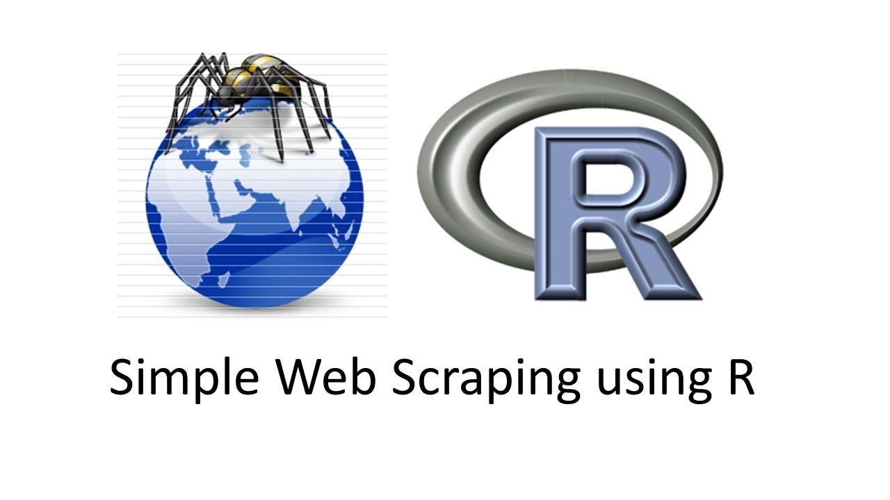 Simple Web Scraping using R