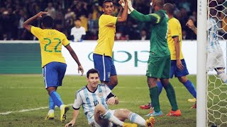 Brazil's cheeky technique to stop Lionel Messi | Oh My Goal