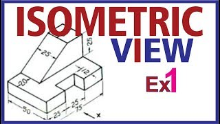 vuclip (Hindi)  Isometric Projection Example 1 #Engineering Drawing
