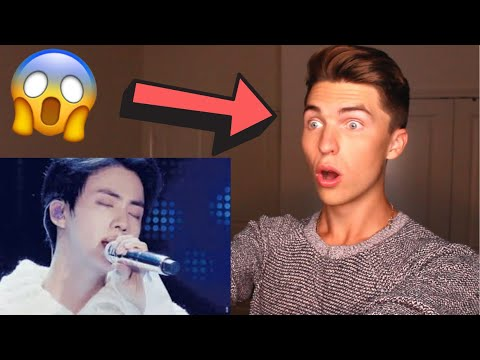 Vocal Coach Reacts to JIN from BTS Singing EPIPHANY (Live) - JIN can SANG