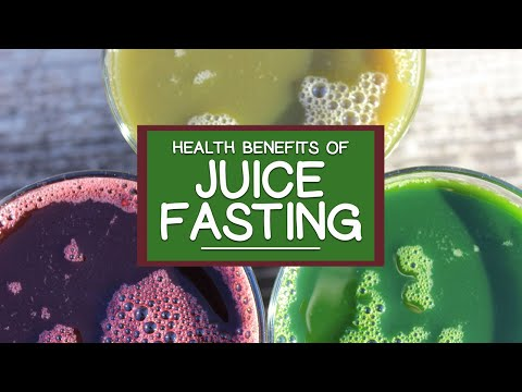 Benefits of Juice Fasting Using Fresh Pressed Fruits and Vegetables