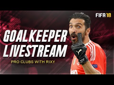 FIFA 18 Pro Clubs Goalkeeping | Daily Practice - Road to 30k Subscribers!
