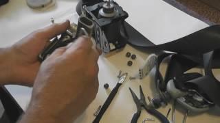 Как разблокировать ремни безопасности после ДТП. Mitsubishi Lancer 9