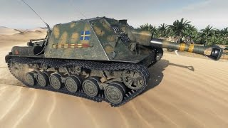 World of Tanks Ikv 103 | 3.114 DMG | 1.661 EXP - Sand River