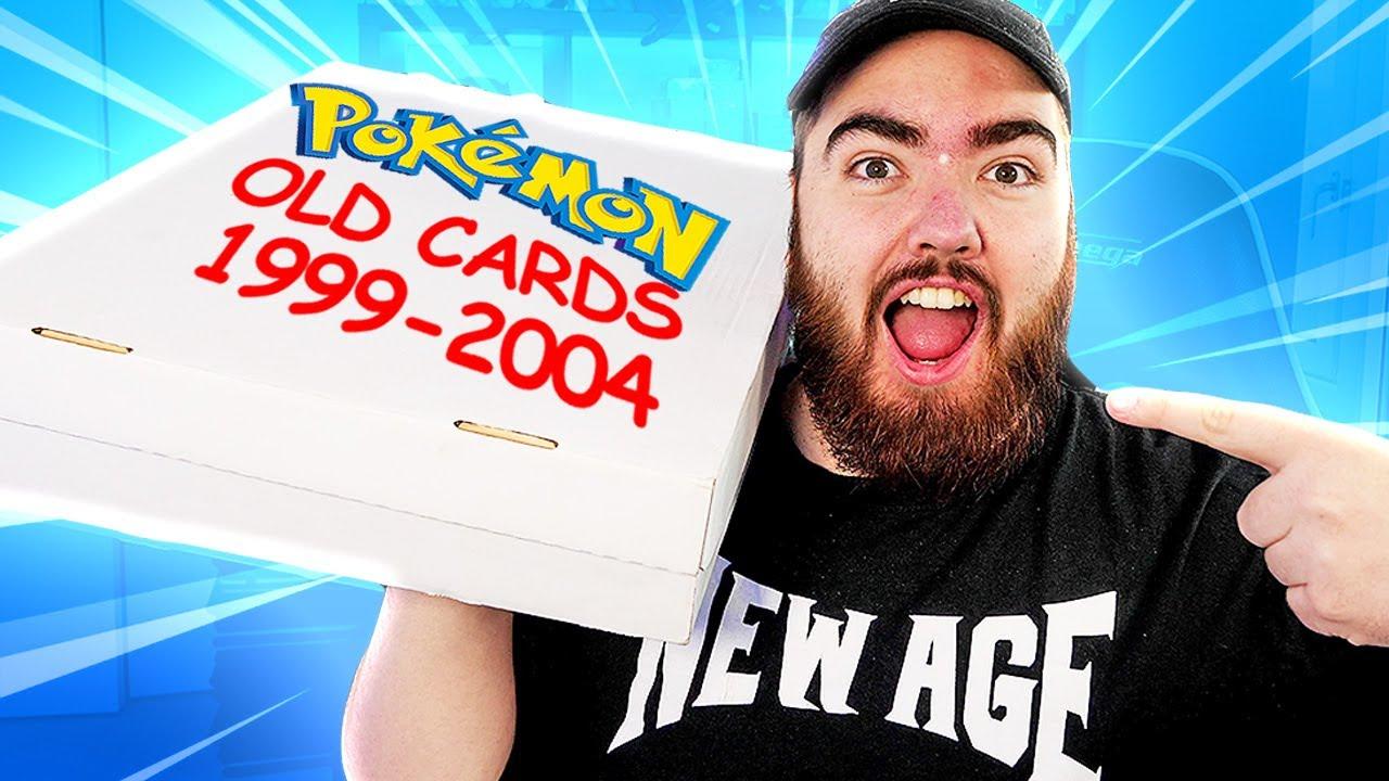 Unboxing my CHILDHOOD Vintage Pokémon Cards! *1999-2005*