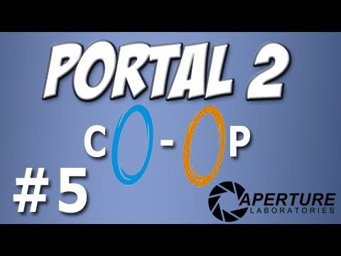 Yogscast - Portal 2: Co-op 5 - Mass and Velocity 6-7