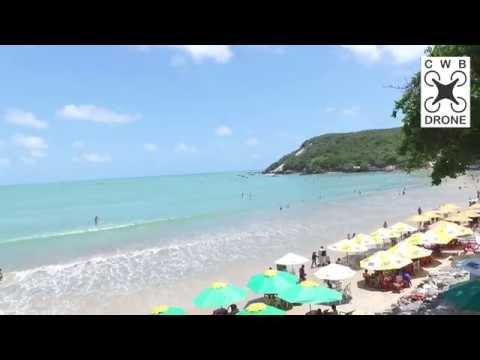 Praia de Natal RN Ponta Negra  2015 CWB DRONE