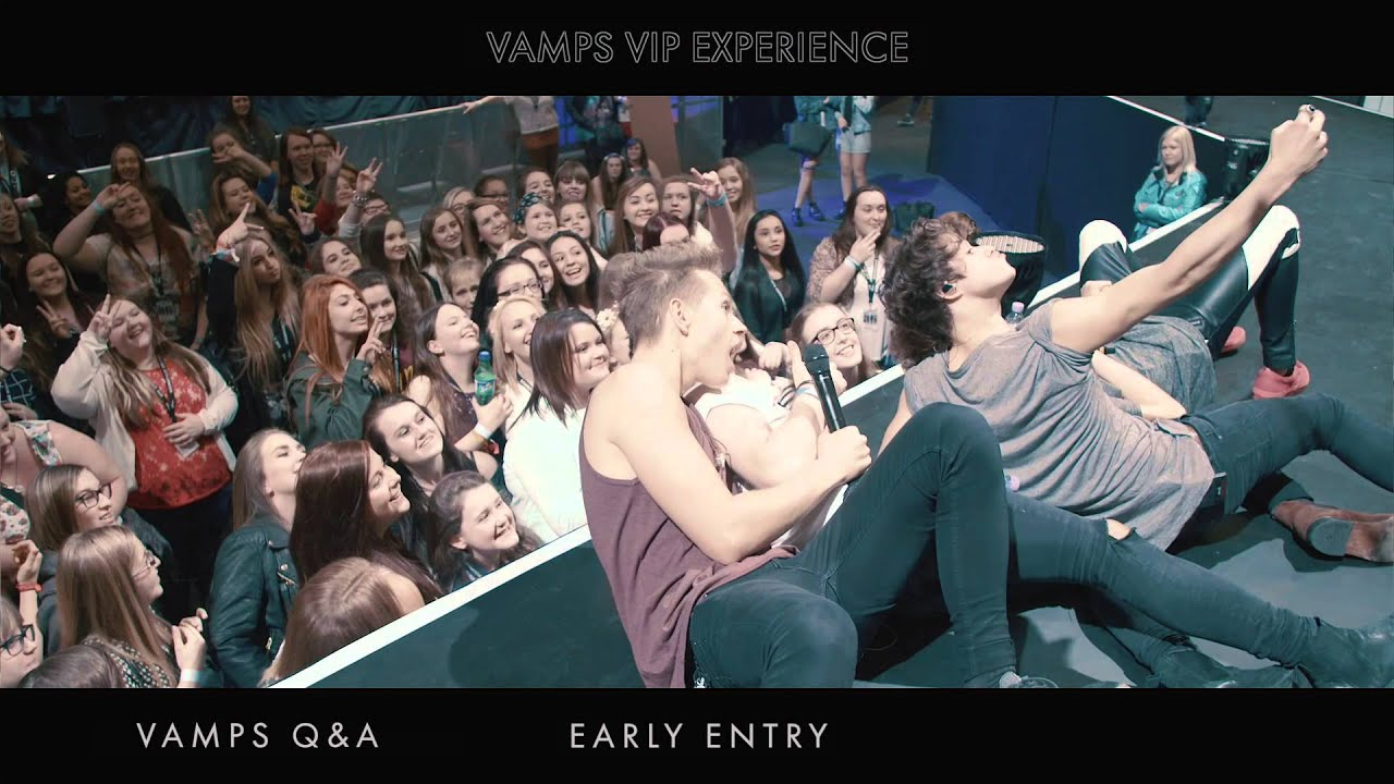 The vamps vip experience youtube the vamps vip experience m4hsunfo