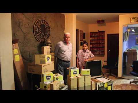 GRACIAS ARRL - DONACIONES PARA EL GUAYAQUIL RADIO CLUB