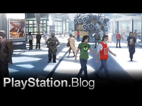 The New PlayStation Home: Video Tour