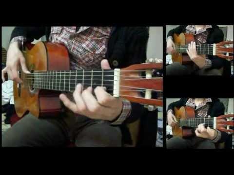 "Abbas Ibrahim - Nadeet . Classic Guitar Cover ""chords&solo"""