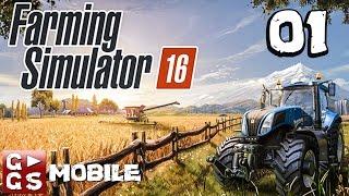 Landwirtschafts Simulator 16 #1 Der neueste Farming Simulator 16 in G►GS Mobile deutsch german HD