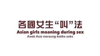 Bunyi awek Asian bila berasmara