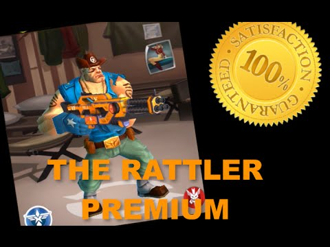 Honest Attempt: The Rattler Premium -- Blitz Brigade Gameplay/Commentary
