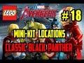 LEGO Marvel Avengers - Classic Black Panther - Mini Kit Locations