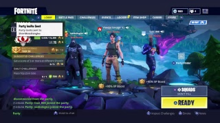 Fortnite Squads with Cozi_868 i running it Tfue style no skins