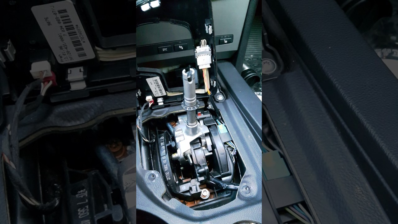 How to repair BMW e60 e61 Automatic transmission D to DS Part 3