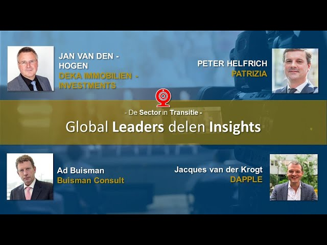 Global Leaders delen Insights - WEBINAR - De Sector in Transitie