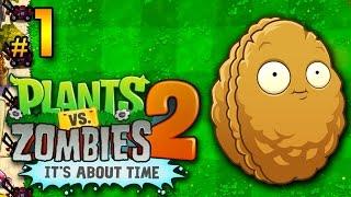Plantas vs Zombis 2│en Español por TulioX│ Parte #1 [A]
