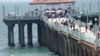 The Manhattan Beach Pier - Manhattan Beach California