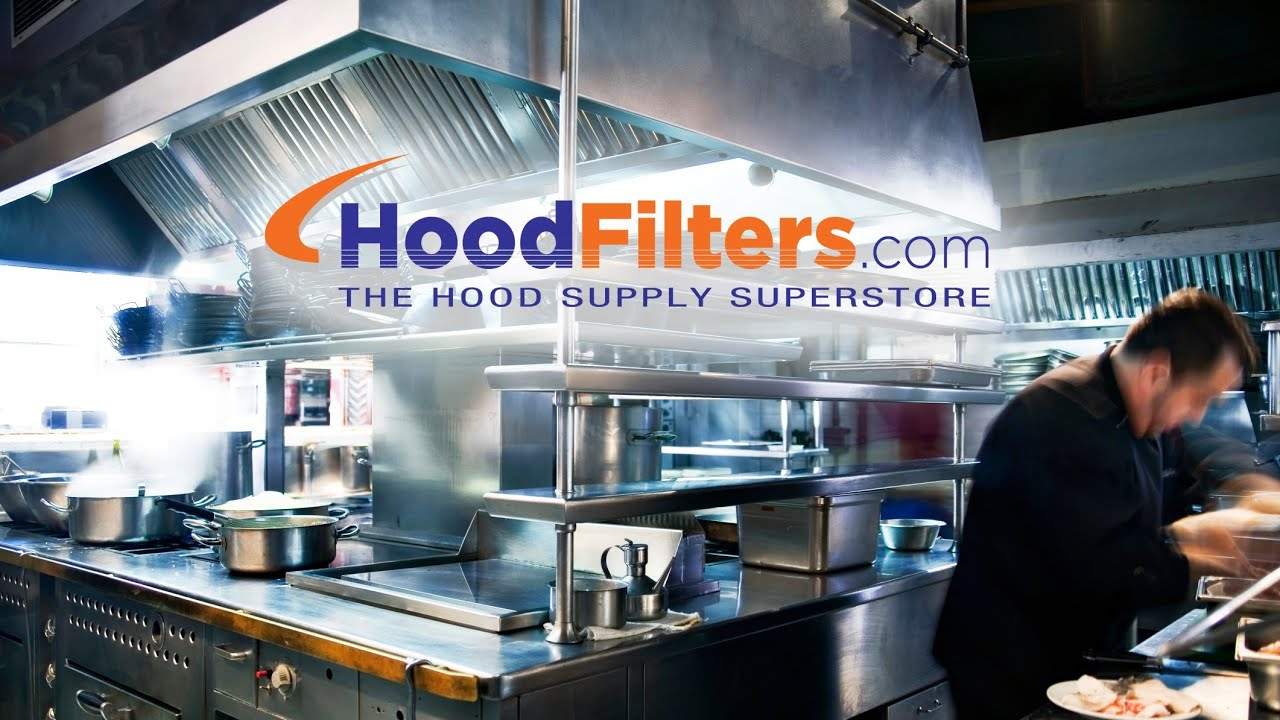 Exhaust Hood Filters - Commercial Kitchen Exhaust Supplies - YouTube