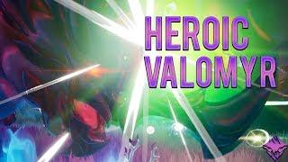 Heroic Valomyr | Axe Solo Speedrun | Dauntless Frostfall 0.6.0