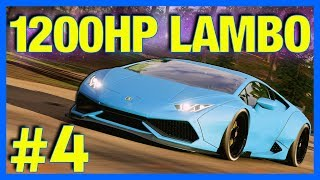 Forza Horizon 4 Let S Play 1200HP Widebody Lamborghini Huracan Part 4