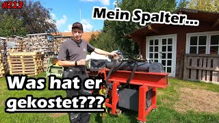DIE ABRECHNUNG! | Was hat er gekostet??? | Holzspalter | Mr. Moto